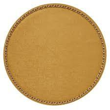 $37.50 Chain Placemats Gold