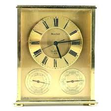 $195.00 Linden Majestic Brass Mantle Clock