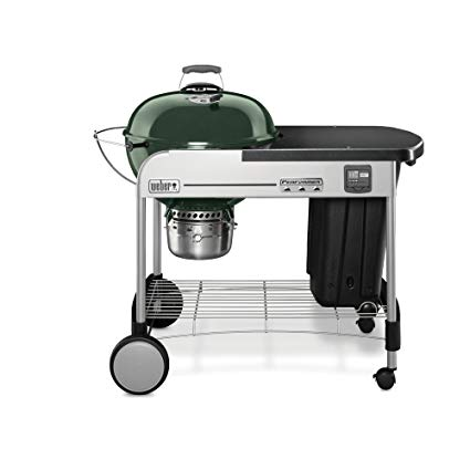 "$349.00 22"" PERFORMER PREMIUM GRILL GREEN"