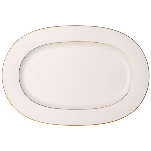 $137.90 Anmut Gold Oval Platter 16 Inch