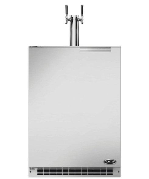 """$3,099.00 24"""" KEG/ BEER DOUBLE TAP- RIGHT HINGE"""