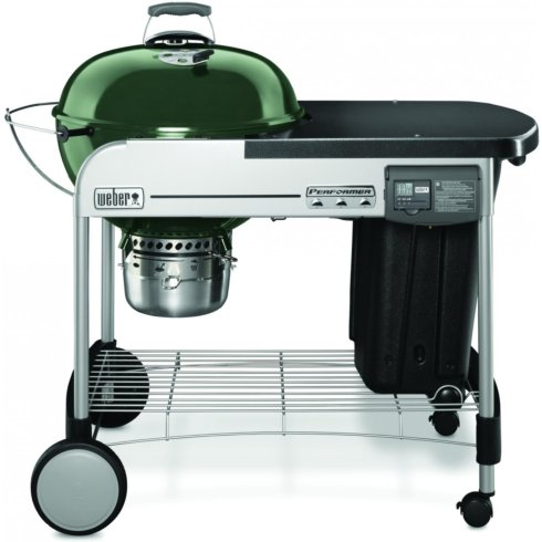 "$399.00 22"" PERFORMER DELUX GRILL GREEN"