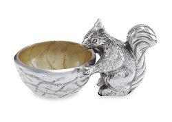 "$50.00 Squirrel 3"" Bowl Toffee"