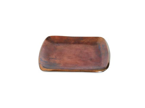 "$50.00 Eclipse 6"" Stackable Square Tray Bronze"