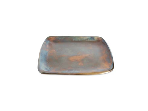 "$100.00 Eclipse 9"" Stackable Square Tray Bronze"