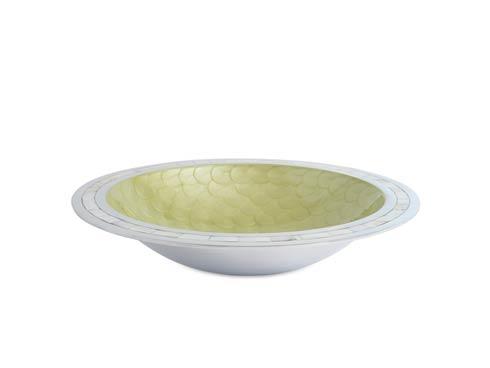 "$150.00 Classic 15"" Round Bowl Kiwi"