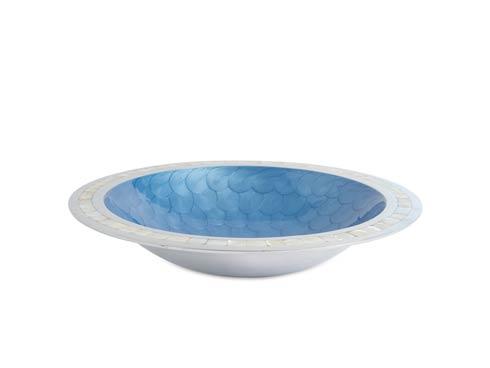 "$150.00 Classic 15"" Round Bowl Azure"