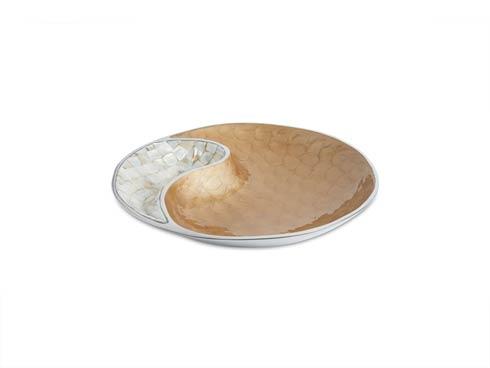"""$150.00 Classic 13"""" Yin Yang Bowl Toffee"""