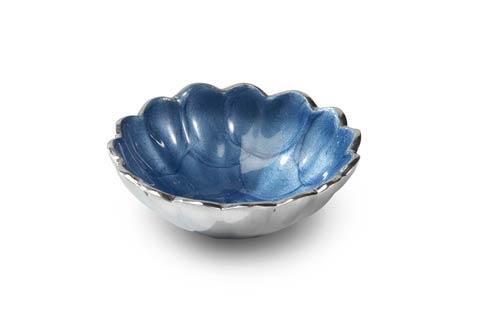 """$25.00 Peony 4"""" Petite Bowl Azure"""
