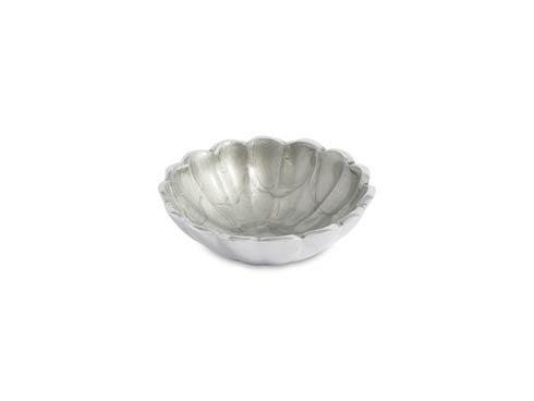 """$25.00 Peony 4"""" Petite Bowl Platinum"""