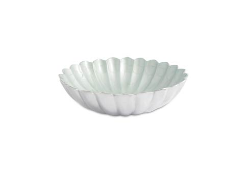 "$125.00 Peony 12"" Round Deep Bowl Hydrangea"