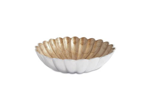 "$145.00 12"" Round Deep Bowl Toffee"