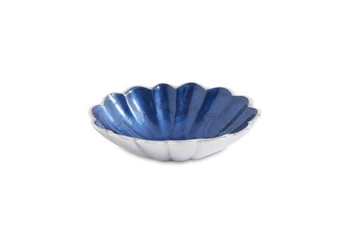 "Julia Knight Peony Bowl Peony 5"" Oval Bowl Sapphire $30.00"