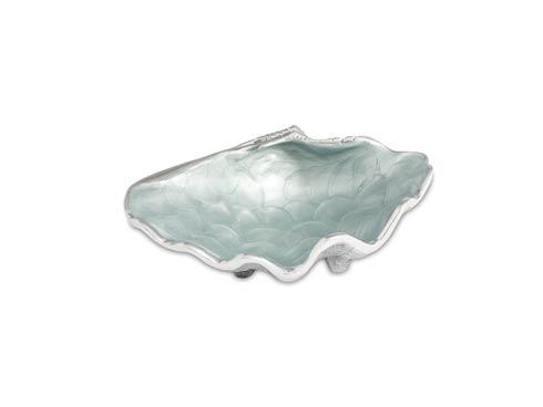 """$75.00 Tahitian Clam Shell 8"""" Bowl Hydrangea"""
