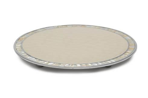 """Julia Knight Classic Cheese Tray 15"""" Round Cheese Tray Snow $225.00"""