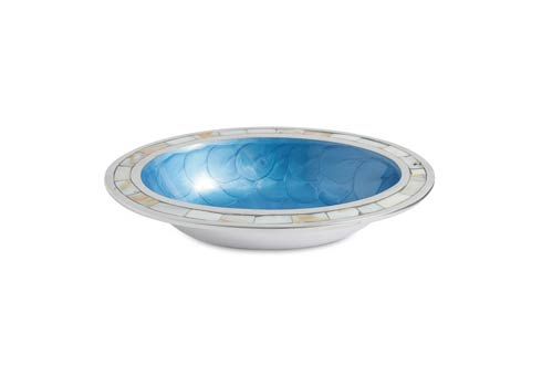"""$65.00 Classic 8"""" Oval Bowl Azure"""