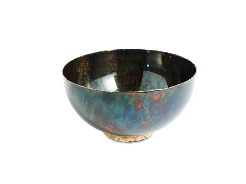 "$175.00 Sierra 10"" Bowl Rainbow Bronze"
