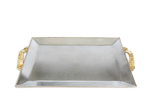"""$250.00 Sierra 20"""" Rectangular Tray Frosted"""