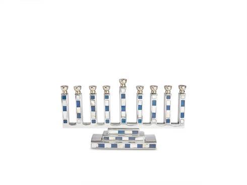 $250.00 Classic Menorah Mosaic Azure