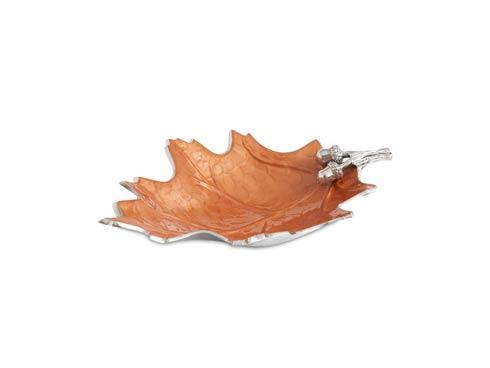"$165.00 Oak Leaf 15"" Bowl Spice"