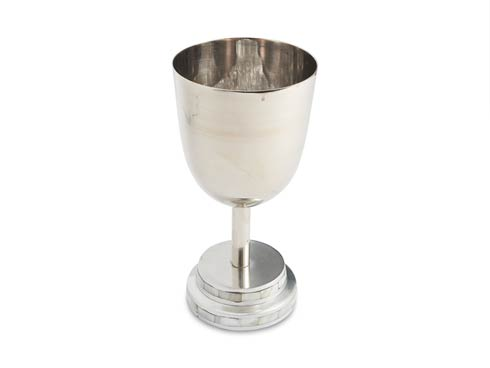 """$90.00 Kiddush Cup 6.75"""" Mother Of Pearl"""