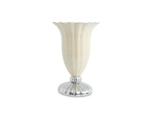 "$299.00 Peony 15"" Pure Color Vase Snow"