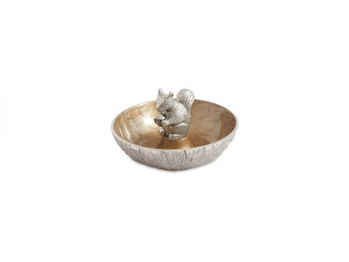 "$99.00 Squirrel 8"" Bowl Toffee"