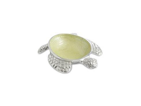 "$45.00 Sea Turtle 6"" Bowl Kiwi"