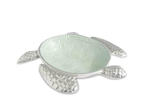 "$95.00 Sea Turtle 10"" Bowl Hydrangea"