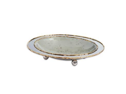 "$55.00 Cascade 6"" Soap Dish Mist"