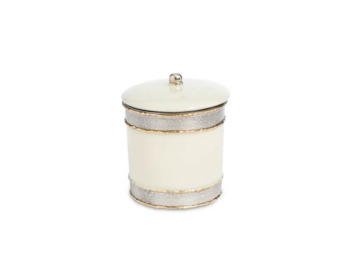 "$60.00 Cascade 5.5"" Covered Canister Cloud"