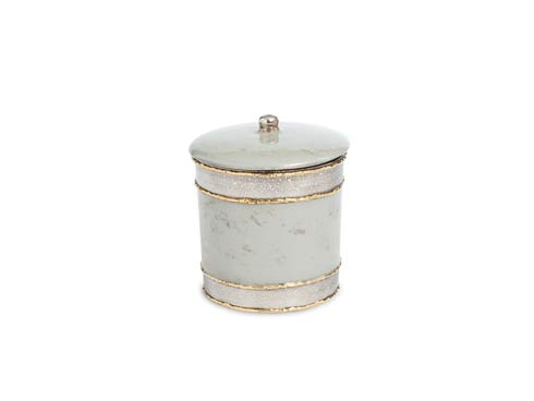 """$60.00 Cascade 5.5"""" Covered Canister Mist"""