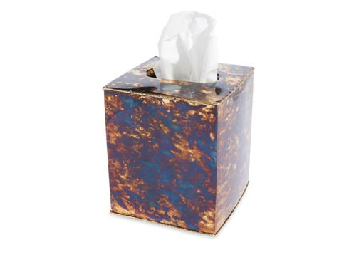 "$99.00 Cascade 5"" Tissue Cover Rainbow Bronze"