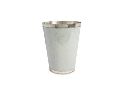 """$135.00 Cascade 11"""" Waste Basket Mist"""