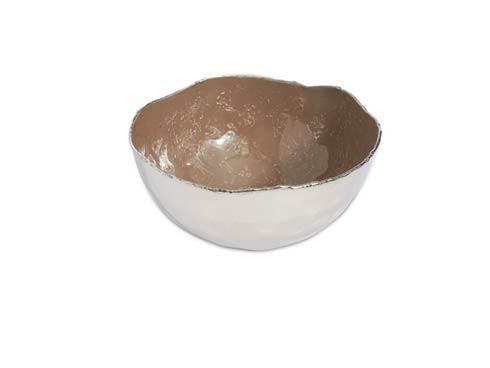 """$65.00 Cascade 6"""" Bowl Mink"""