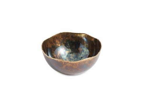 "$65.00 Cascade 6"" Bowl Rainbow Bronze"