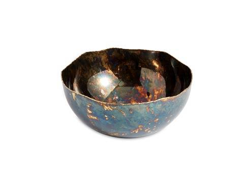 "$125.00 Cascade 10"" Bowl Rainbow Bronze"