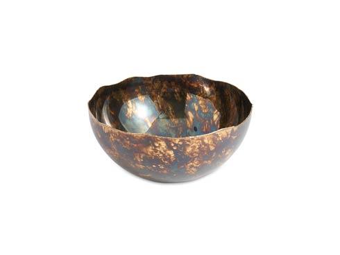 "$199.00 Cascade 12"" Bowl Rainbow Bronze"