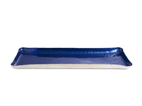 "Julia Knight  Cascade Cascade 17"" Rectangle Tray Cobalt $135.00"