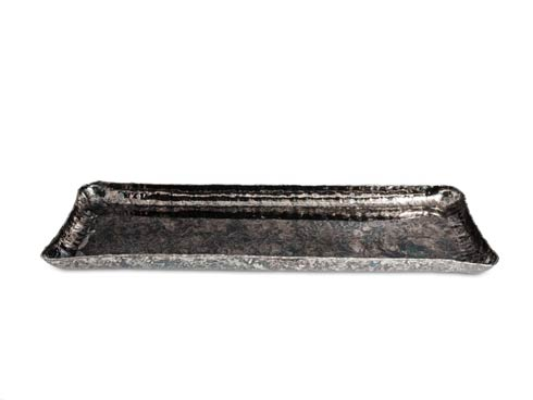 "Julia Knight  Cascade Cascade 17"" Rectangle Tray Graphite $135.00"