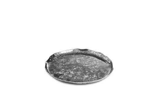"$135.00 Cascade 13"" Round Tray Graphite"