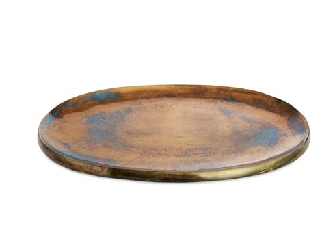 "$160.00 Eclipse 15"" Platter Bronze"