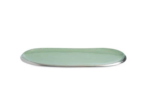 "Julia Knight Eclipse Tray Eclipse 14"" Tray Surf $75.00"