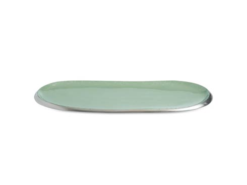 "Julia Knight Eclipse Tray Eclipse 14"" Tray Surf $75.00"