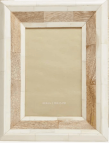 Natural Bone  Frame  5 x 7 collection with 1 products