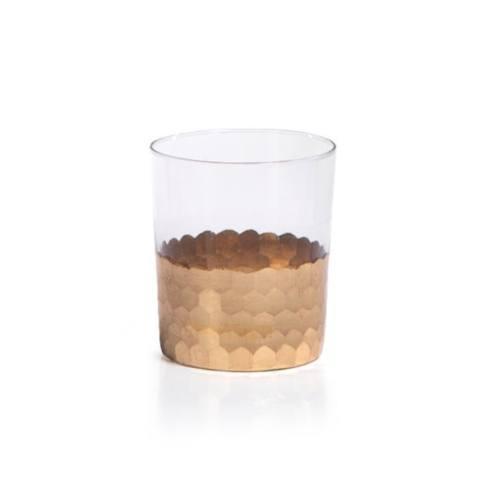 $19.50 Moroccan Gold DOF Glass