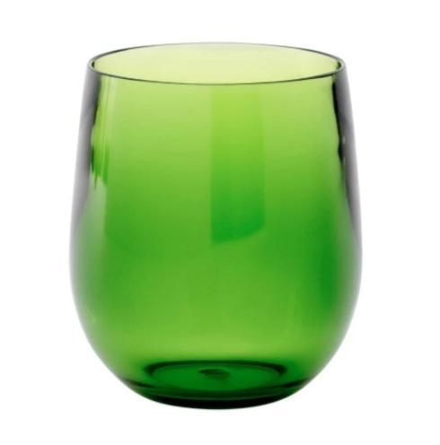Jeffrey Bannon Exclusives   Green Acrylic Wine $17.50