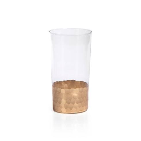 Jeffrey Bannon Exclusives   Moroccan Gold Highball Glass $19.50