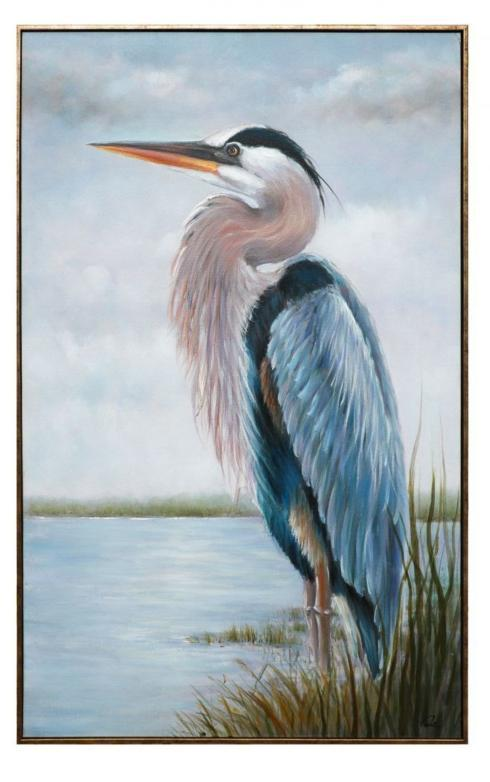 Jeffrey Bannon Exclusives   Majestic Heron Giclee\' $399.00