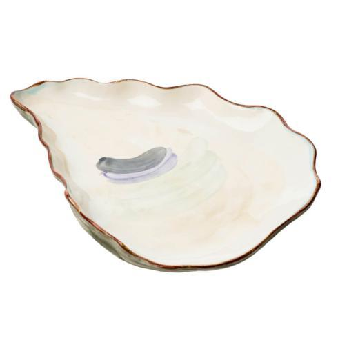 Jeffrey Bannon Exclusives   Hand Painted Large Oyster Platter $129.00
